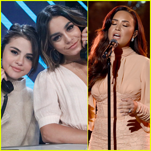 Selena Gomez & Vanessa Hudgens Join Demi Lovato at 'Somos: Una Voz' Telethon!