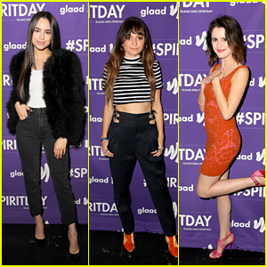 Sofia Carson, Daya, Laura Marano & More Support LGBTQ Youth at 'Believer' Concert for Spirit Day 2017!