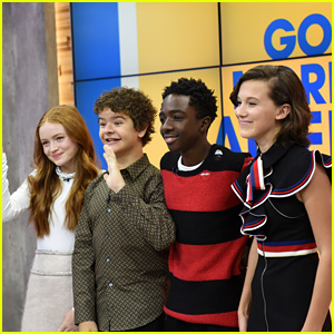 The 'Stranger Things' Cast Dishes on the Show's Second Season on 'GMA' & 'Build Series' - Watch!