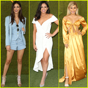 Victoria Justice, Bethany Mota & Eva Gutowski Get Glam For Veuve Clicquot Polo Classic