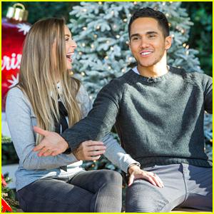 Alexa & Carlos PenaVega Share Behind-The-Scenes Video From New Hallmark Movie 'Enchanted Christmas'