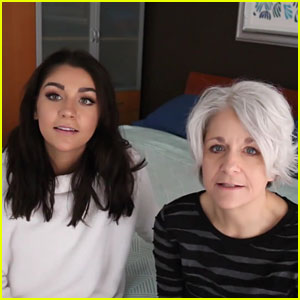 Andrea Russett Does Her Mom's Makeup, Dad Hilariously Reacts!