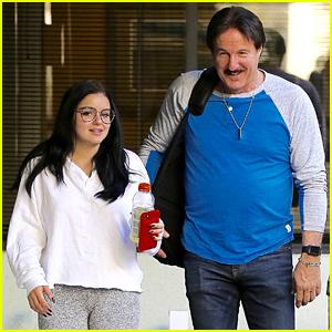 Ariel Winter Enjoys Some Father-Daughter Bonding Time