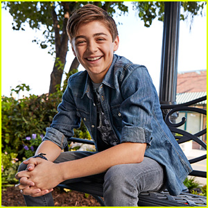 Andi Mack's Asher Angel Drops 'Snow Globe Wonderland' Just In Time For the Holidays - Listen Now!