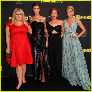 Brittany Snow & Anna Camp Shine at 'Pitch Perfect 3' Premiere in Australia