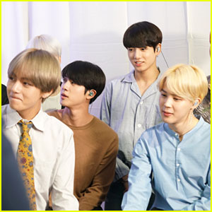 BTS Stops By Radio Row Ahead of American Music Awards Performance