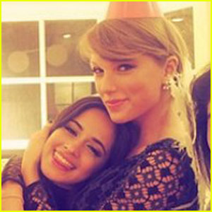 Camila Cabello Says Taylor Swift Made Her Cry This Weekend