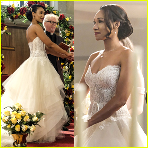 Candice Patton Dishes On Finding The Most Gorgeous & 'Indestructible' Dress For Iris on 'The Flash'