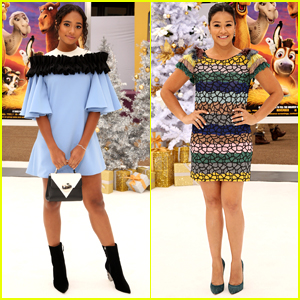 Gina Rodriguez & Chandler Kinney Step Up Their Style Game at 'The Star' Premiere