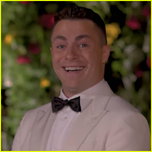 Colton Haynes Breaks Down in Tears During Wedding to Jeff Leatham (VIDEO)