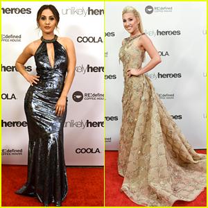 Selena Gomez's Mom Mandy Teefey Honors Francia Raisa at Unlikely Heroes Gala 2017