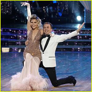 Frankie Muniz & Witney Carson Foxtrot For Redemption Dance on DWTS Season 25 Finals (Video)