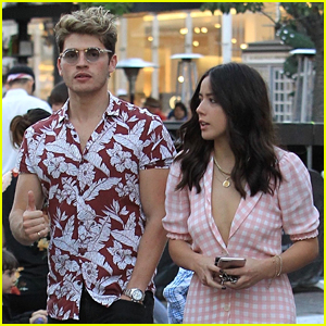 Gregg Sulkin & Chloe Bennet Team Up for Stylish LA Outing