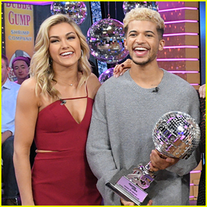 Jordan Fisher Has a Special Place For His 'DWTS' Mirror Ball Trophy