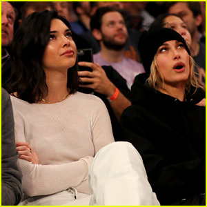 Kendall Jenner & Hailey Baldwin Sit Courtside to Watch Blake Griffin!