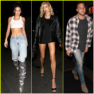 Kendall Jenner Rocks Sparkly Silver Boots at 22nd Birthday Dinner With Famous Friends