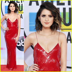 Laura Marano Sizzles in Stella McCartney at AMAs 2017