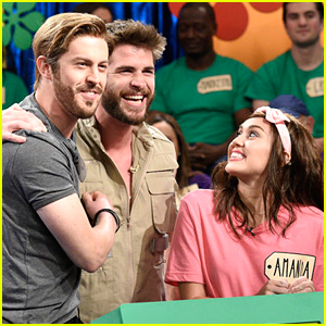 Liam Hemsworth Made a Surprise Appearance on Tonight's SNL - Watch!