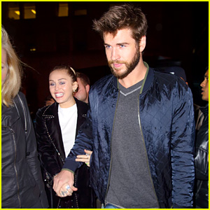 Miley Cyrus & Liam Hemsworth Look Picture Perfect at 'SNL' Party!