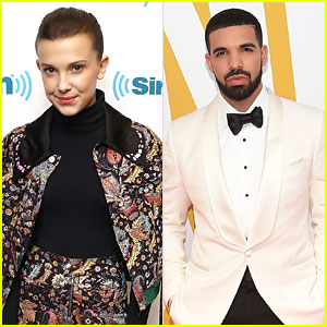Millie Bobby Brown Contains Herself While Meeting Drake