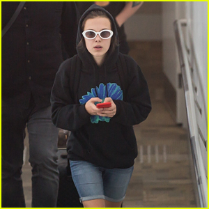 Millie Bobby Brown Has Drake to Thank for Her Airport Style!