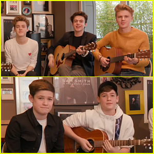 New Hope Club Joins Max & Harvey for Acoustic Cover of Rita Ora's 'Anywhere' (Video)