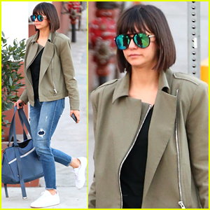 Nina Dobrev Shows Off Her Fall Style Ahead of Dance Class