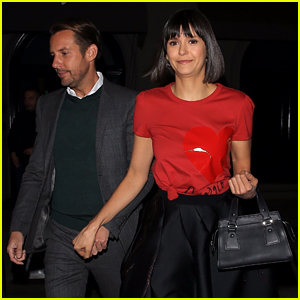Nina Dobrev Steps Out for Stylish Dinner Date With Publicist