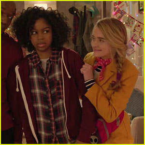 Riele Downs & Lizzy Greene Star In 'Tiny Christmas' Trailer