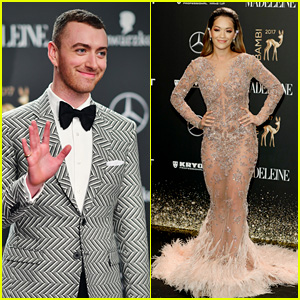 Sam Smith & Rita Ora Bring the Glamour to Bambi Awards 2017!