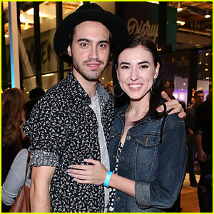 Ryan McCartan & Girlfriend Samantha Fekete Step Out For 'Zac & Mia' Premiere