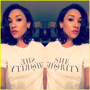 Candice Patton, Caity Lotz & More Announce Shethority Tees!