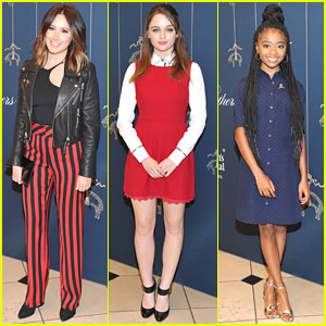 Ashley Tisdale, Joey King & Skai Jackson Benefit St Jude Research Hospital at Holiday Party