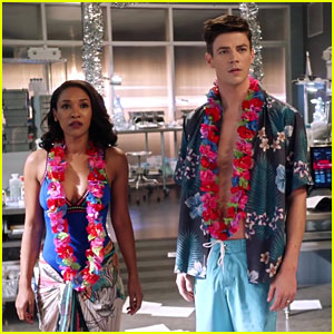 Barry & Iris' Honeymoon Gets Interrupted In 'The Flash' Deleted Scene
