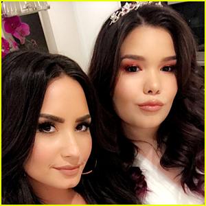 Demi Lovato Celebrates Sister Madison de la Garza's 16th Birthday