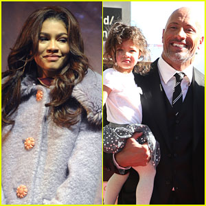Zendaya Has A Celebrity Baby Lookalike - Dwayne Johnson's Daughter Jasmine