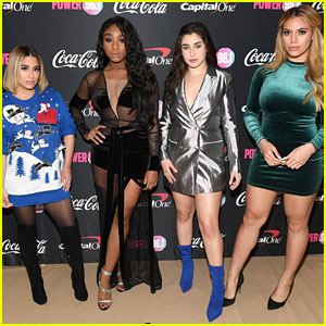 Fifth Harmony Gets Festive at Power 96.1's Jingle Ball 2017!