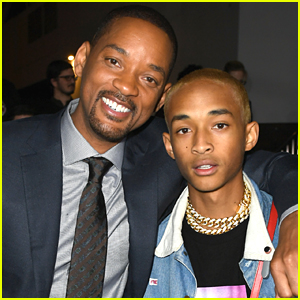 Jaden Smith Supports His Dad Will at the Premiere of 'Bright'!