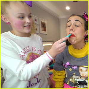JoJo Siwa Gives Miranda Sings A Makeover For 12 Days of Collabs