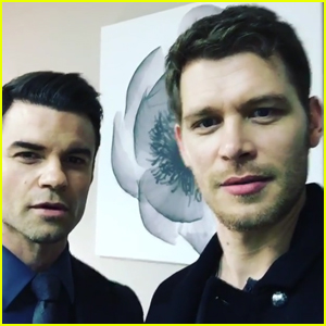 Joseph Morgan & Daniel Gillies Share Funny Goodbye Video To 'The Originals'