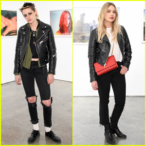 Kristen Stewart & Ashley Benson Show Support at Anton Yelchin: Provocative Beauty Reception!
