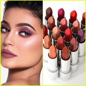 Kylie Jenner's Kylie Cosmetics Reveals Silver Series Lipsticks!