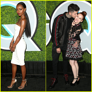 Riverdale's Madelaine Petsch & Ashleigh Murray Turn Heads at GQ's Men of the Year Party