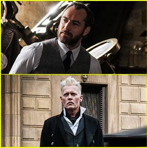 See Jude Law As Young Albus Dumbledore In New 'Fantastic Beasts' Images!