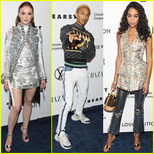 Sophie Turner, Jaden Smith, & Laura Harrier Attend a Louis Vuitton Event in NYC