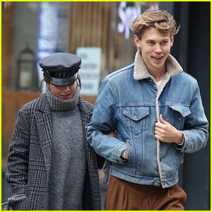 Vanessa Hudgens & Boyfriend Austin Butler Have a Day Date in NYC!
