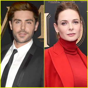 Zac Efron Has Heart Eyes For Rebecca Ferguson!