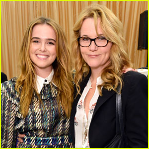 Zoey Deutch Dresses For Success With Mom Lea Thompson