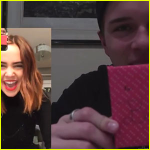 Alex Lange FaceTimed Bailee Madison After Midnight Christmas Eve To Open Presents