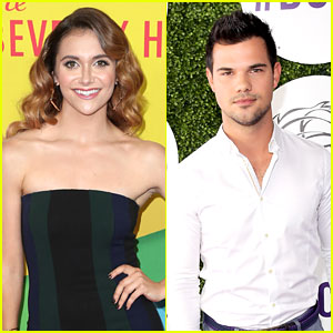 Alyson Stoner Shares Throwback Video With Taylor Lautner